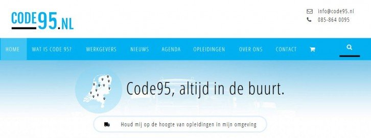 code95_website_screenshot