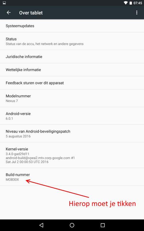 android-ontwikkelaars-mode-stap2