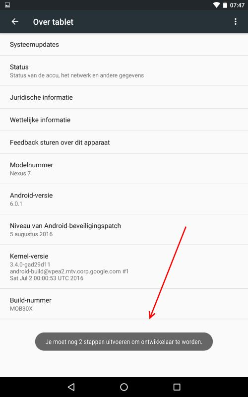 android-ontwikkelaars-mode-stap4